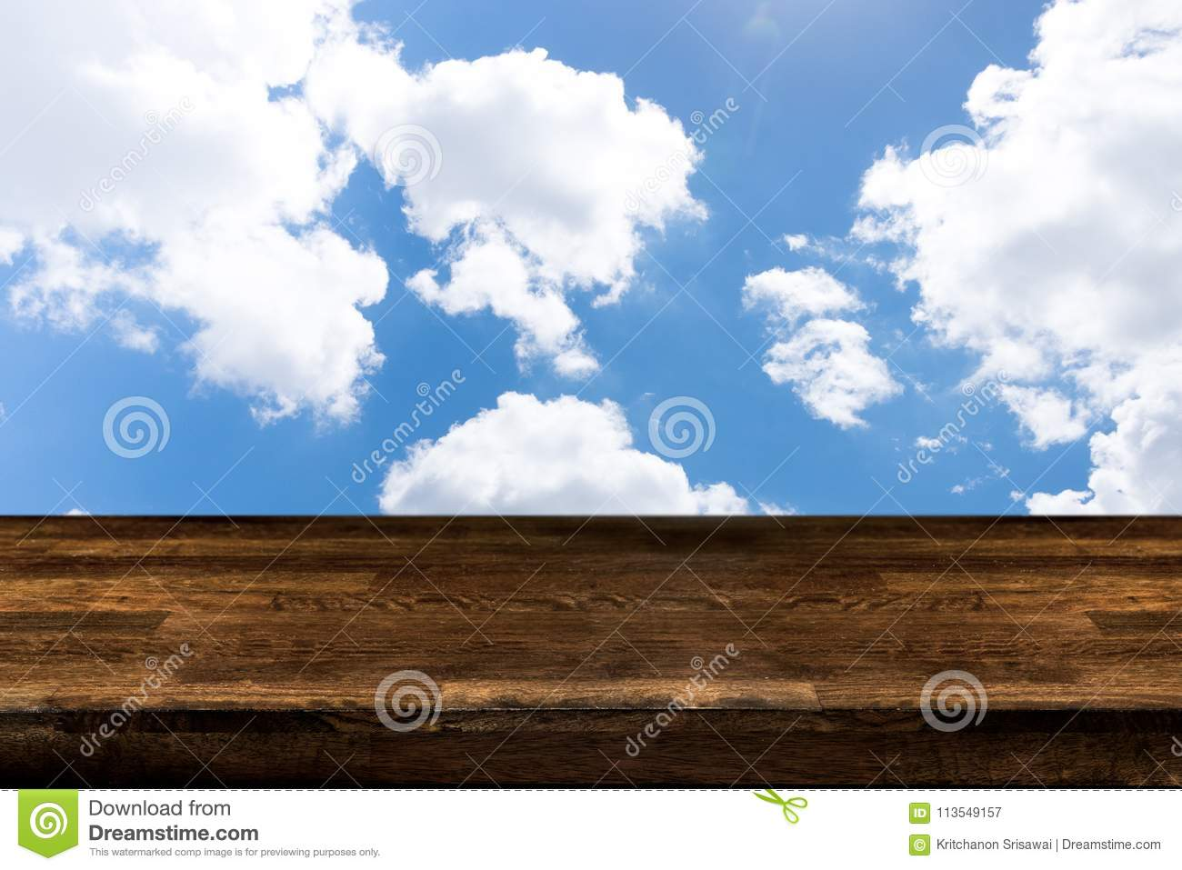 Wood Table Looks Cloudy