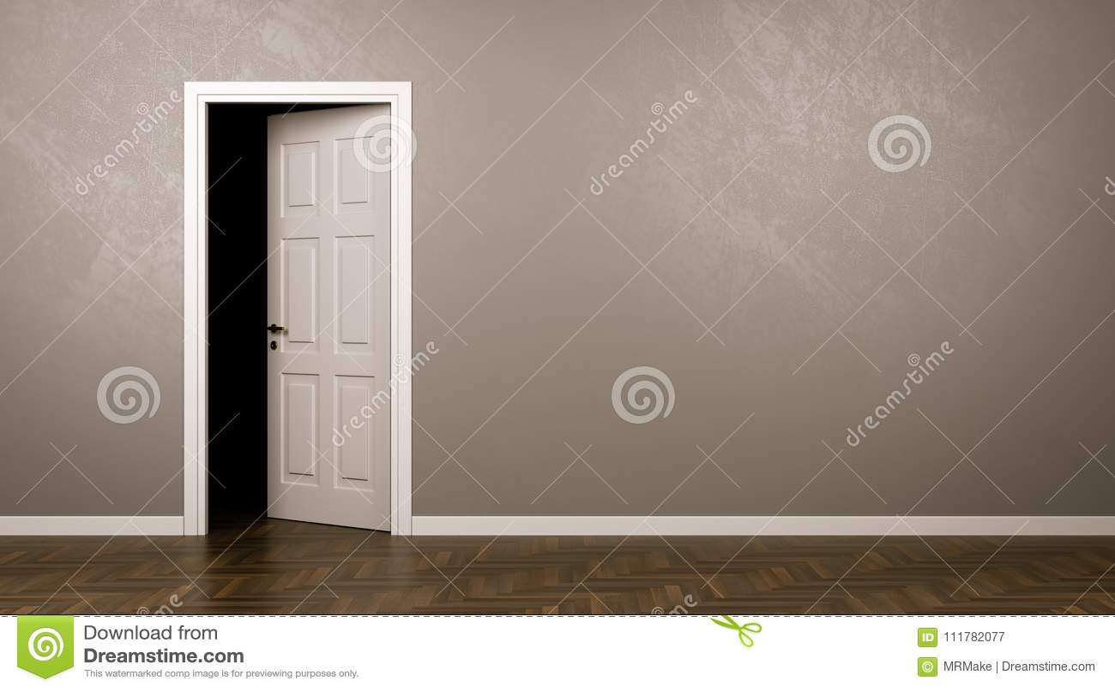 Darkness Behind the Door