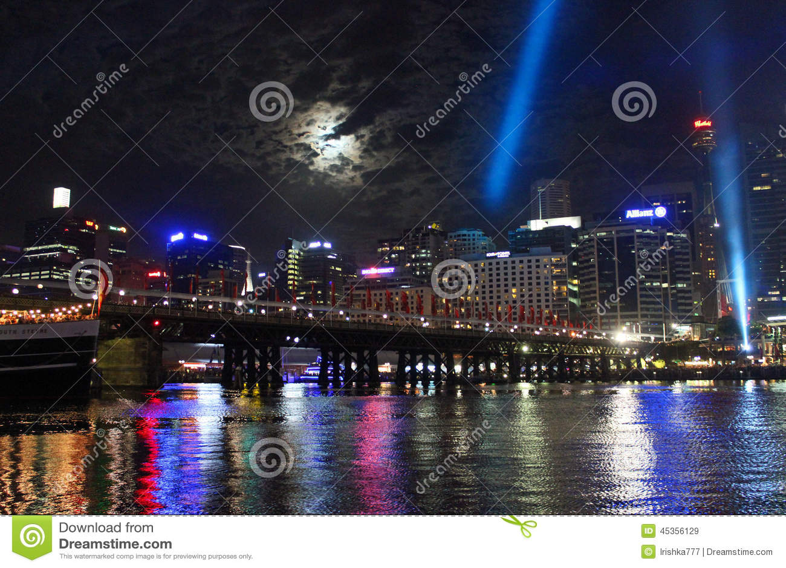 Darling Harbour, port de Sydney, Australie