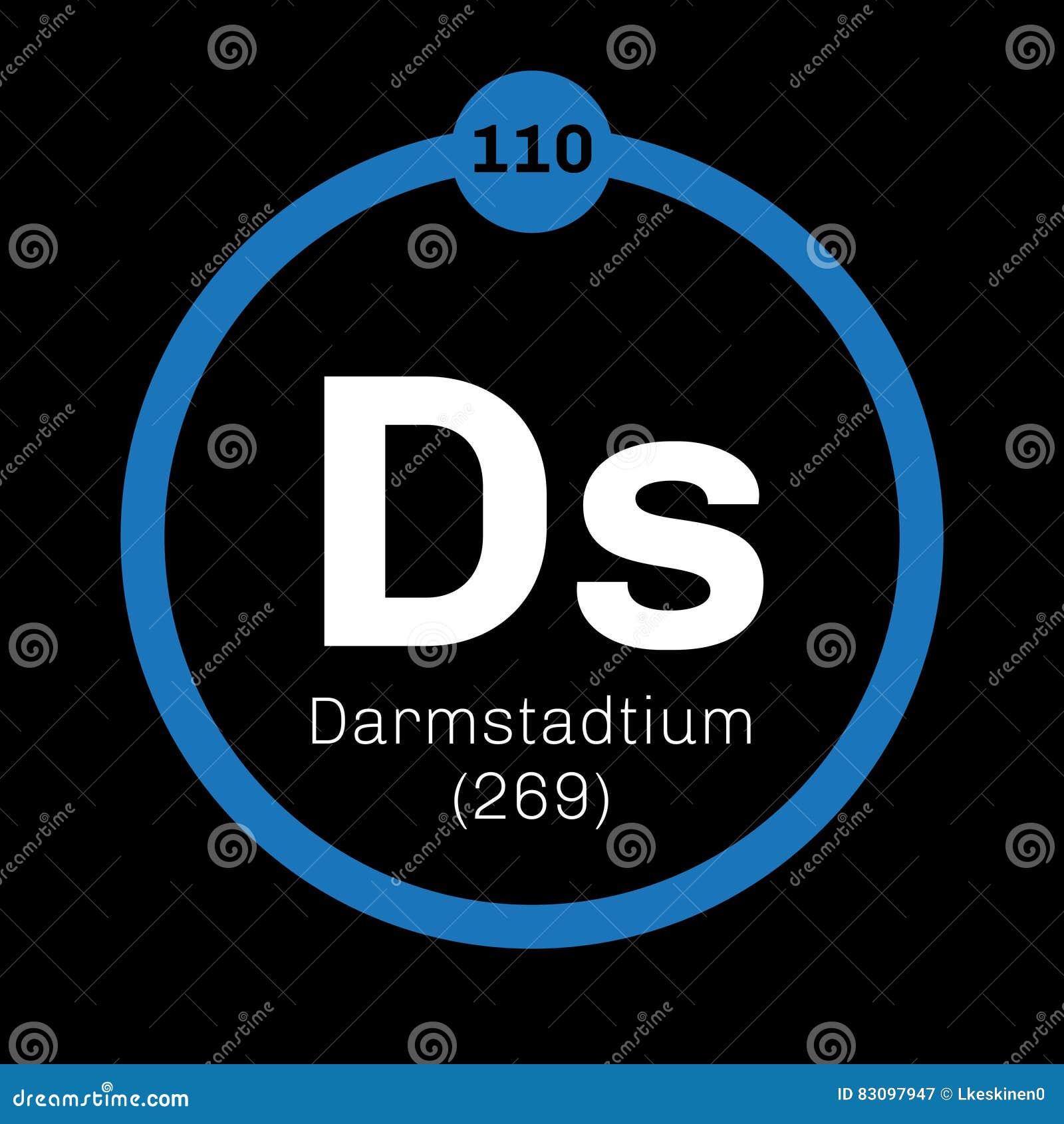 Darmstadtium chemisch element