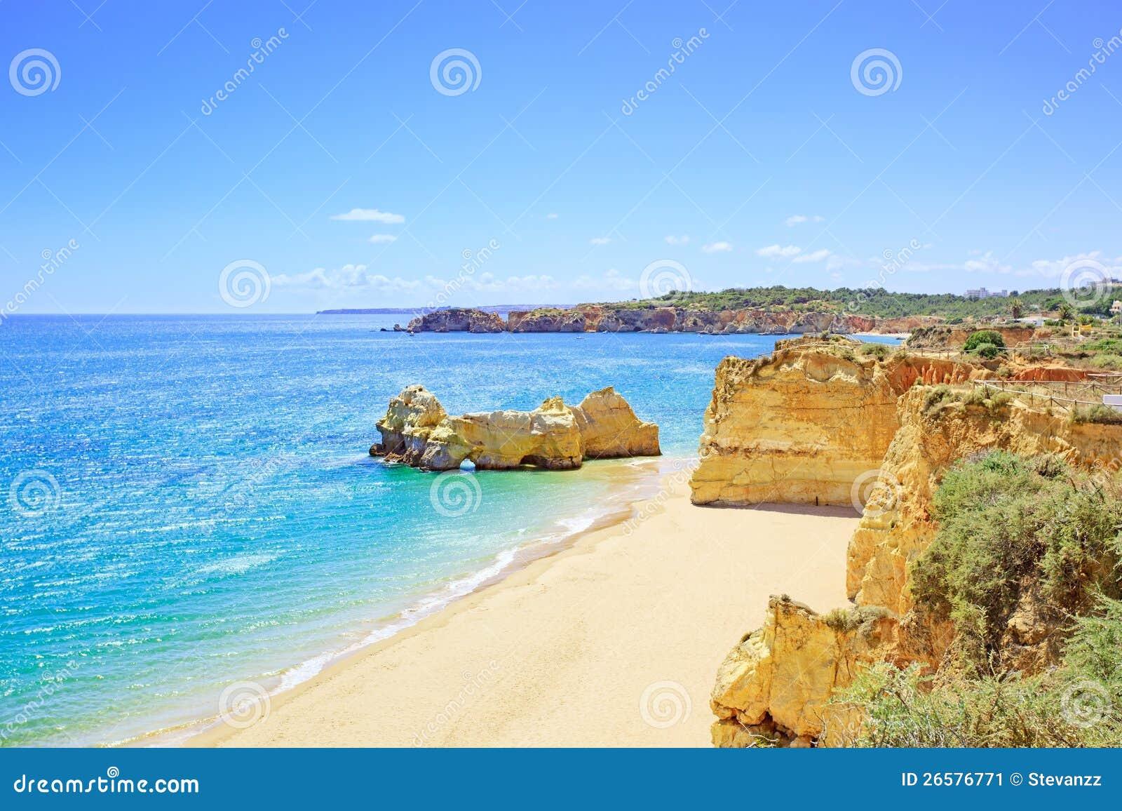 DARocha strand Portimao van Praia. Algarve. Portugal