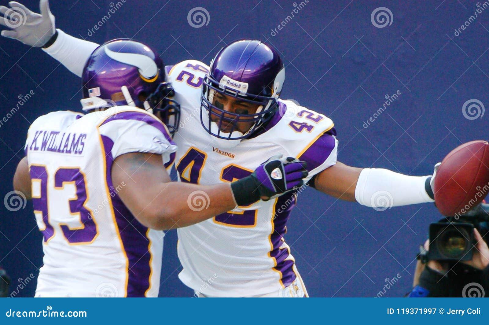 Darren Sharper Minnesota Vikings Editorial Photography