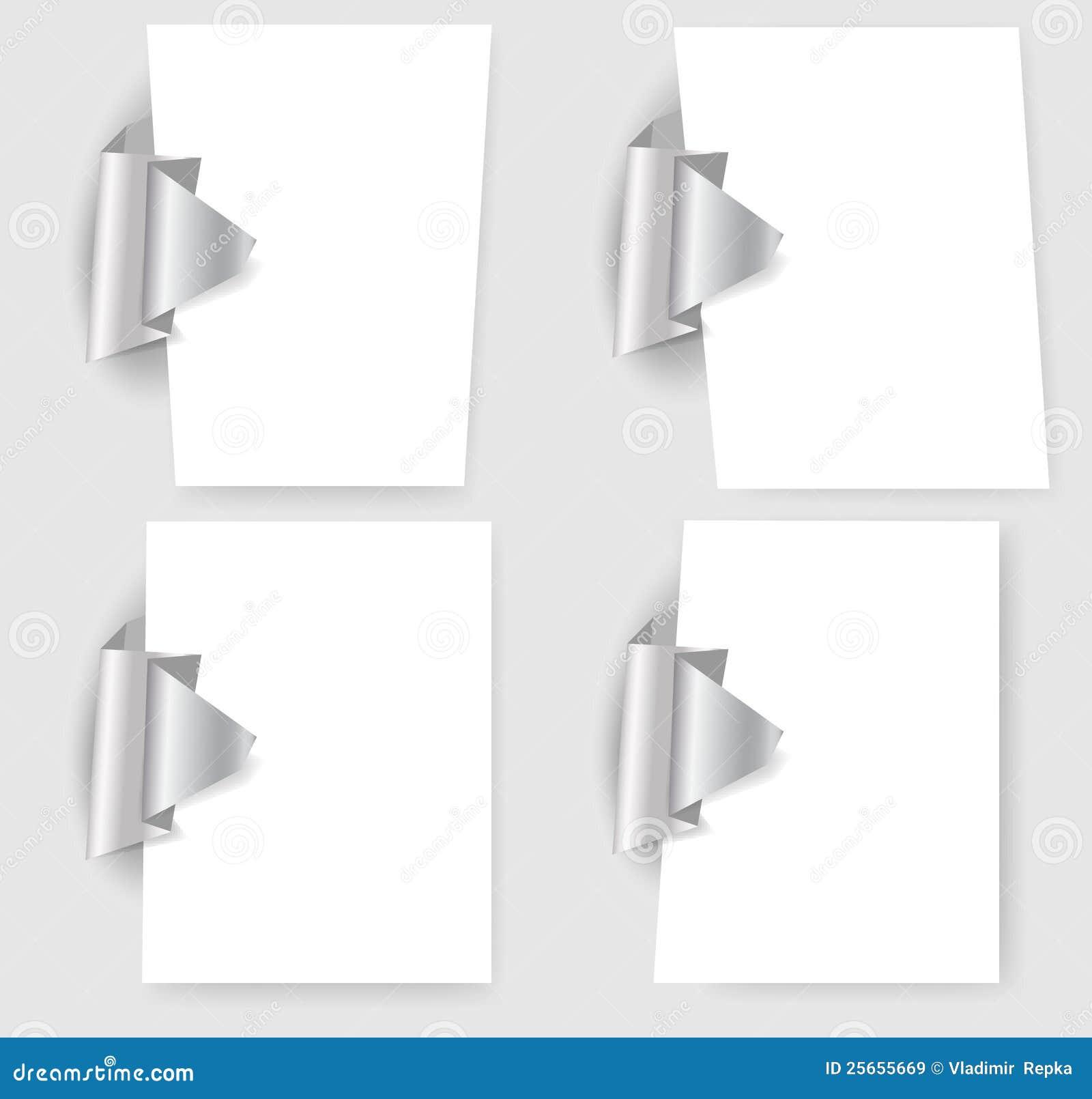 Darstellungsschablonen mit origami Element