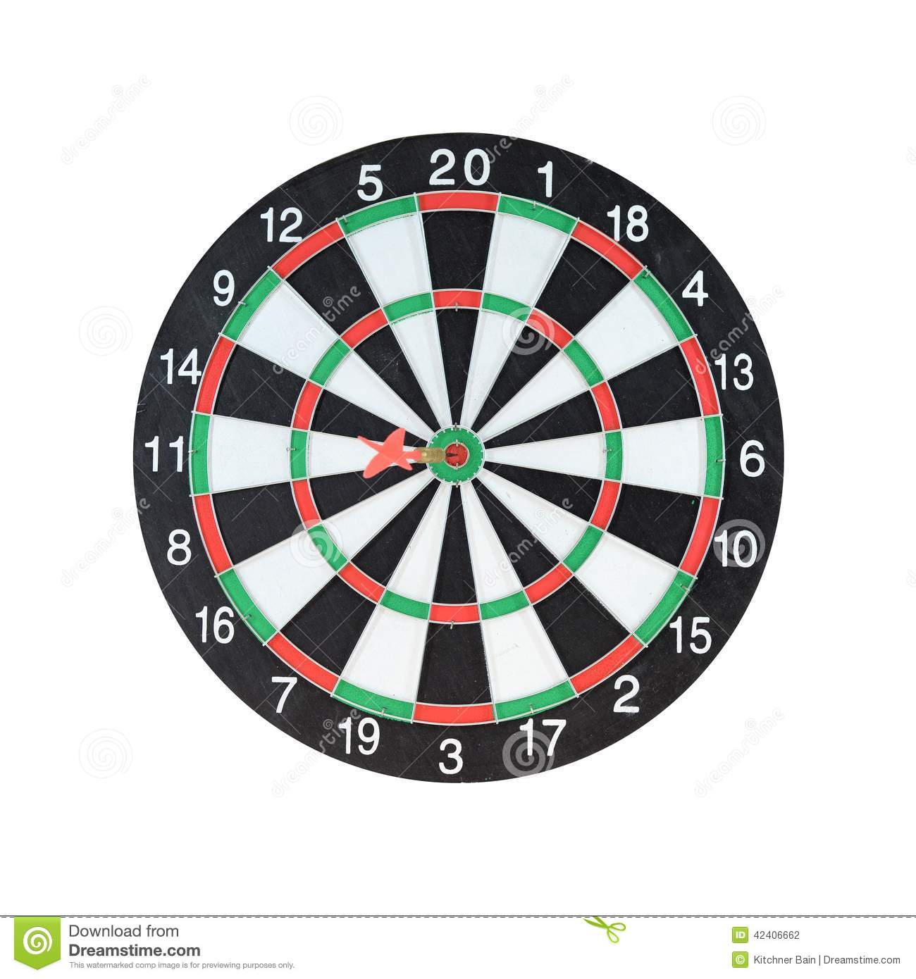 Dart Board stock photo. Image of clipart, game, circular ...