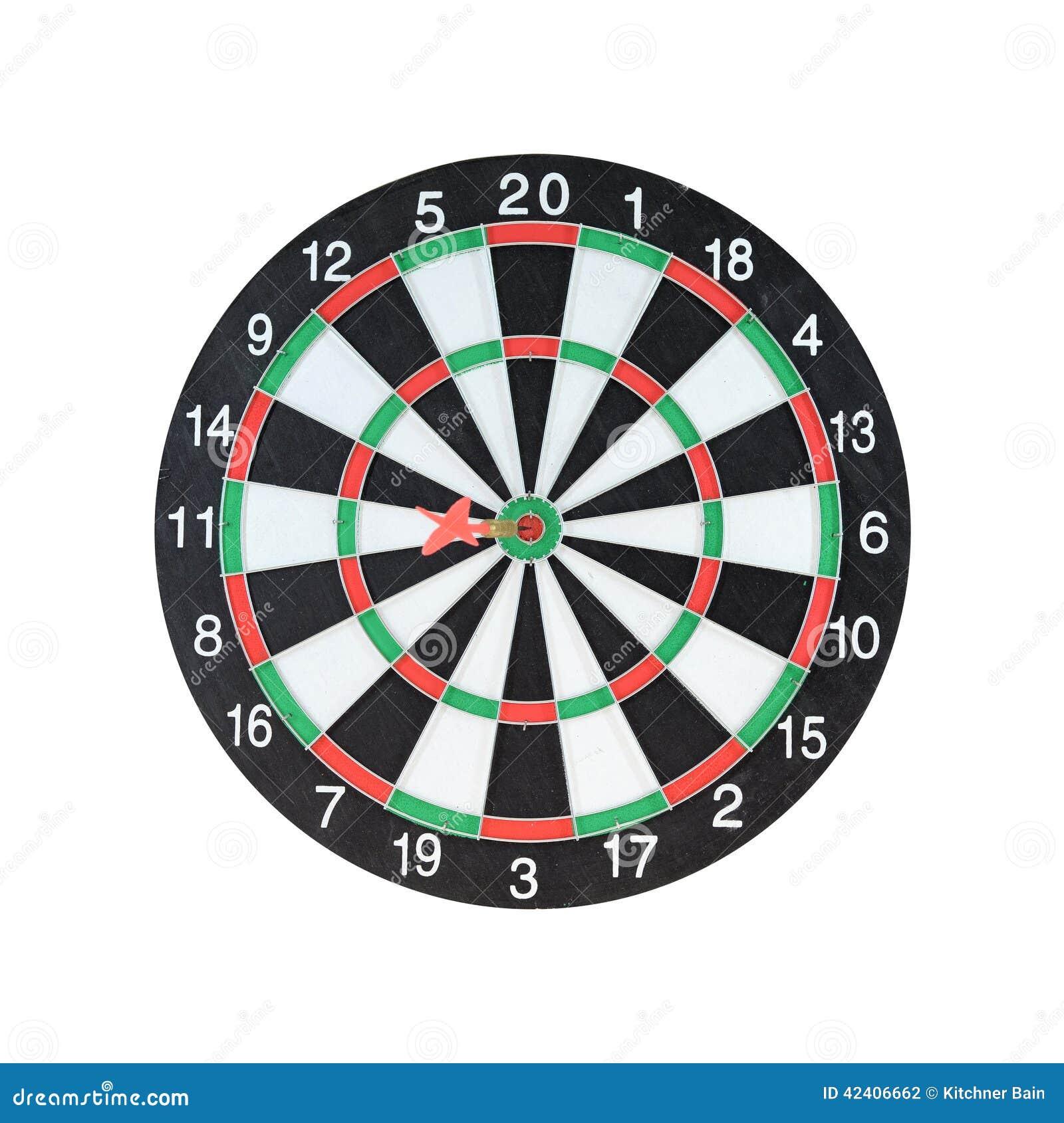 Dart Board Stock Photo Image Of Clipart Game Circular 42406662