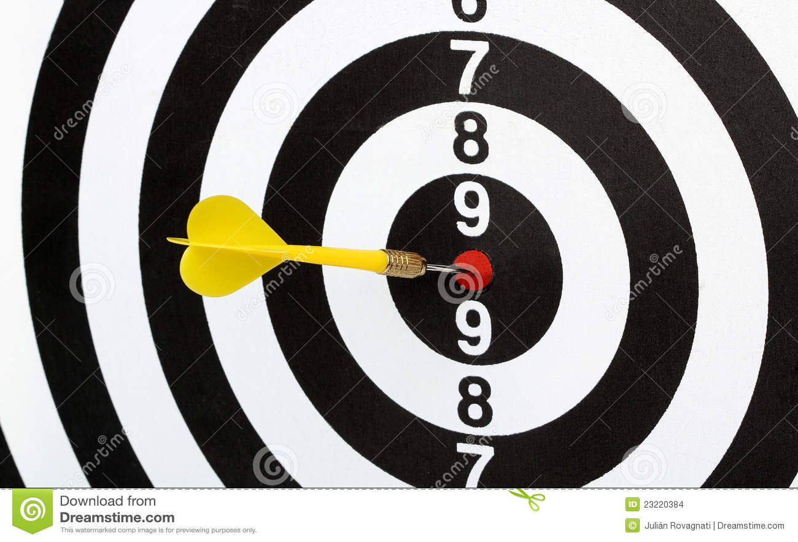 darts bulls eye