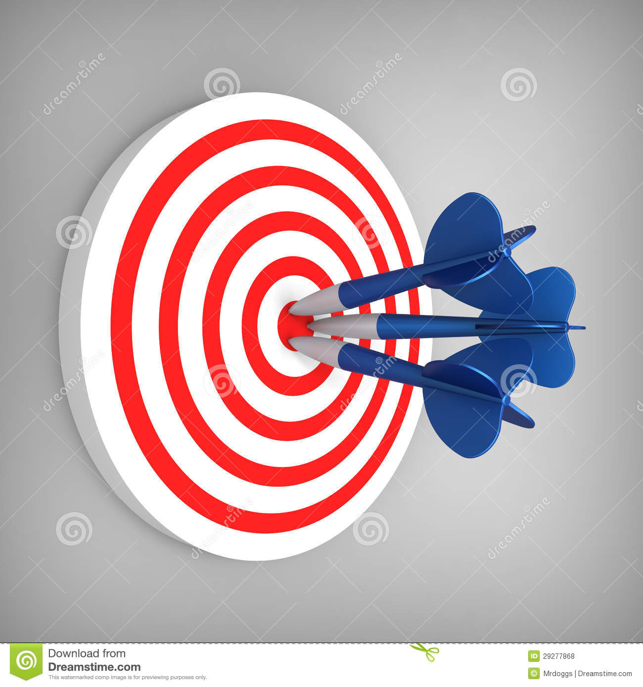 darts hit accurate on the target stock illustration illustration