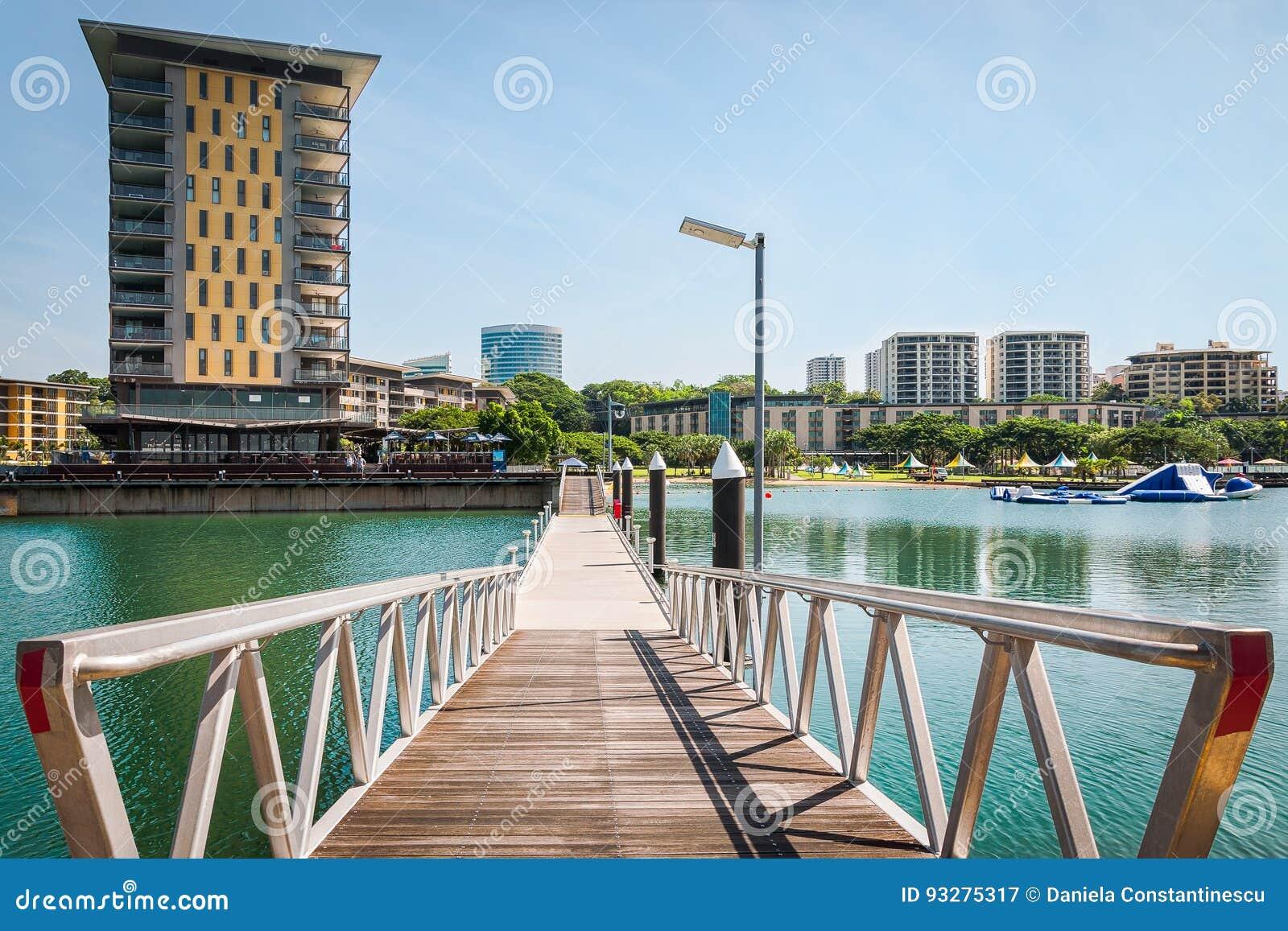 Darwin Waterfront Wharf, Território do Norte, Austrália