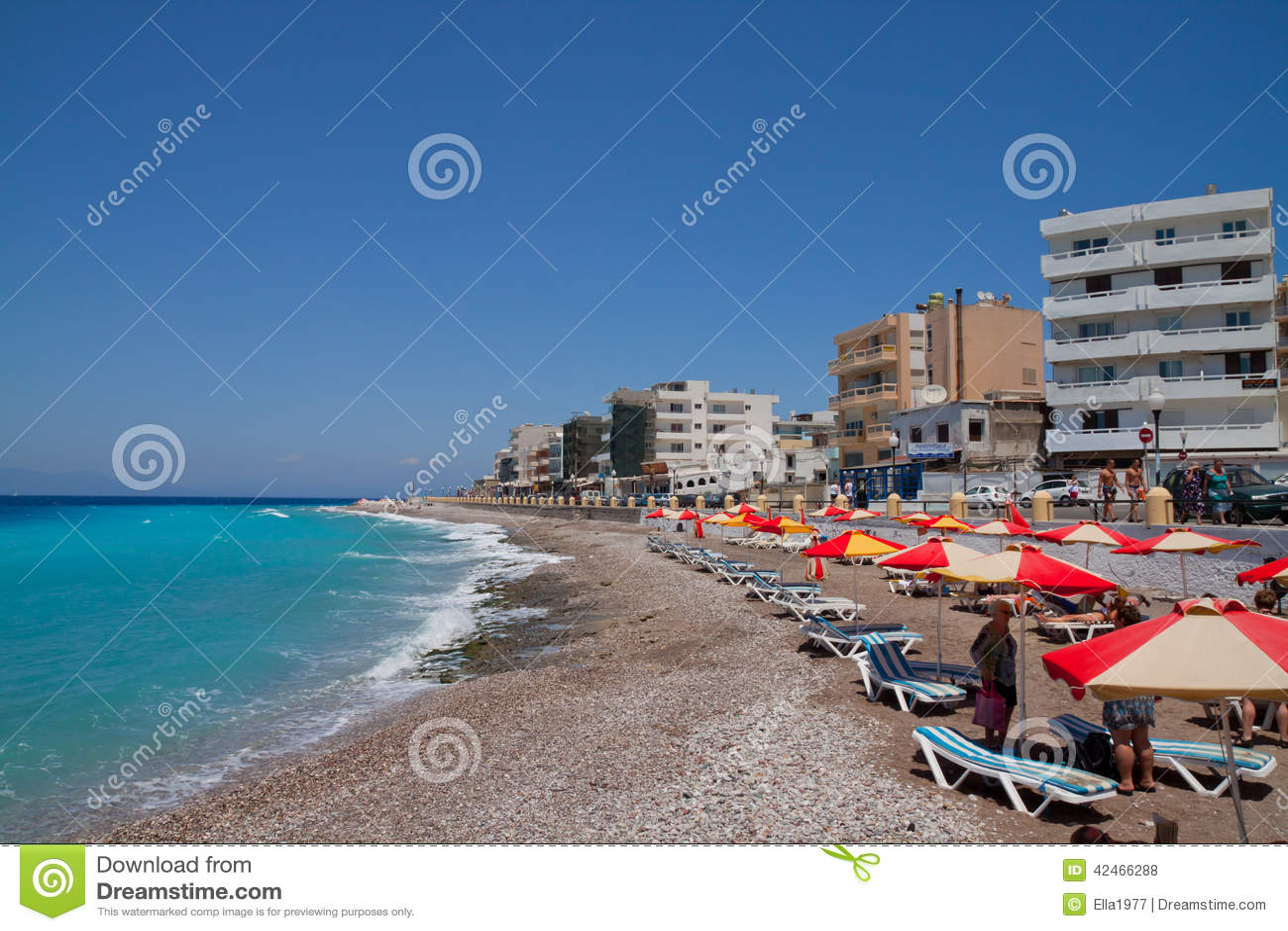Das Ägäische Meer rhodes Griechenland