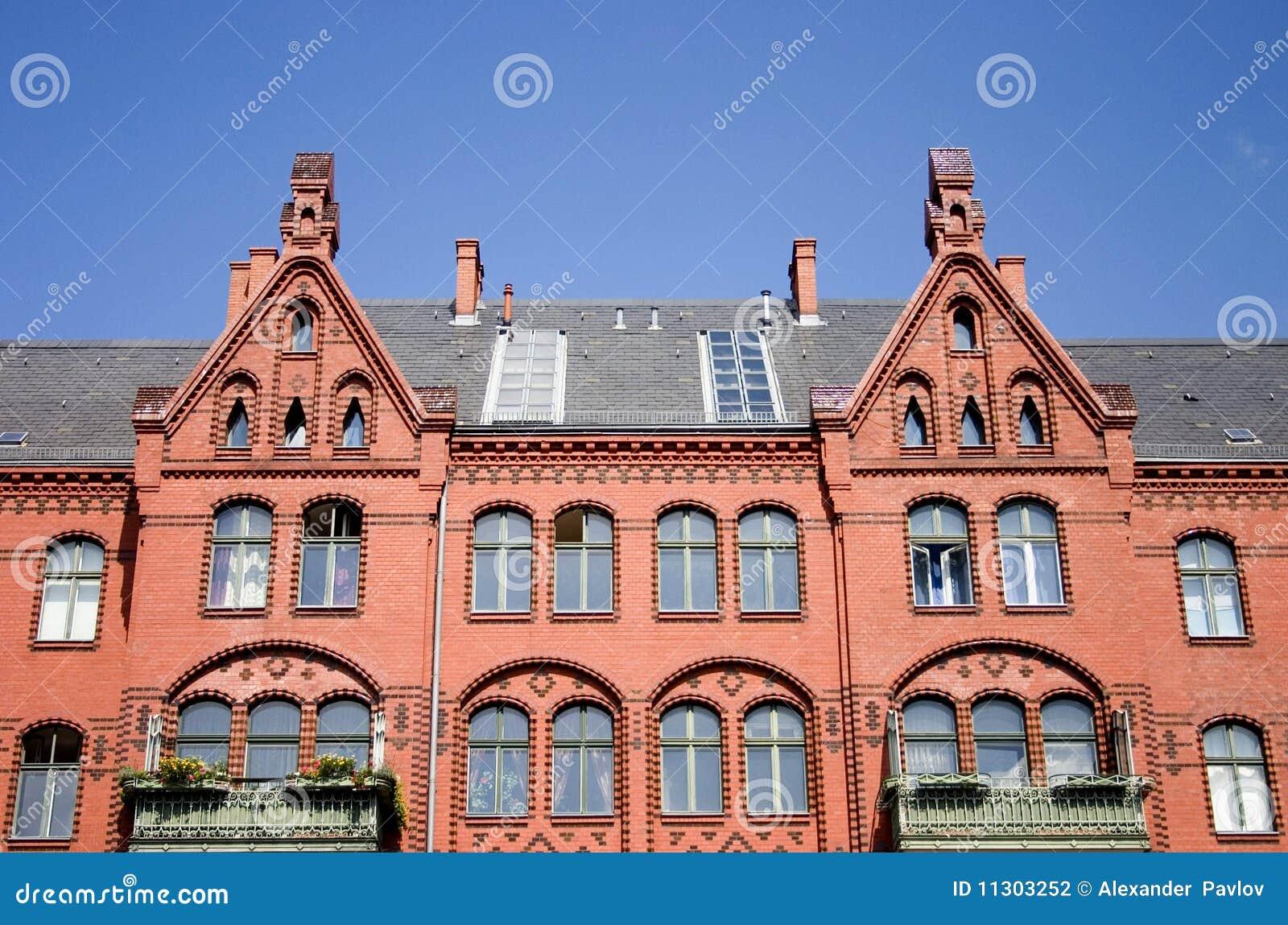 Das alte Ziegelsteinhaus