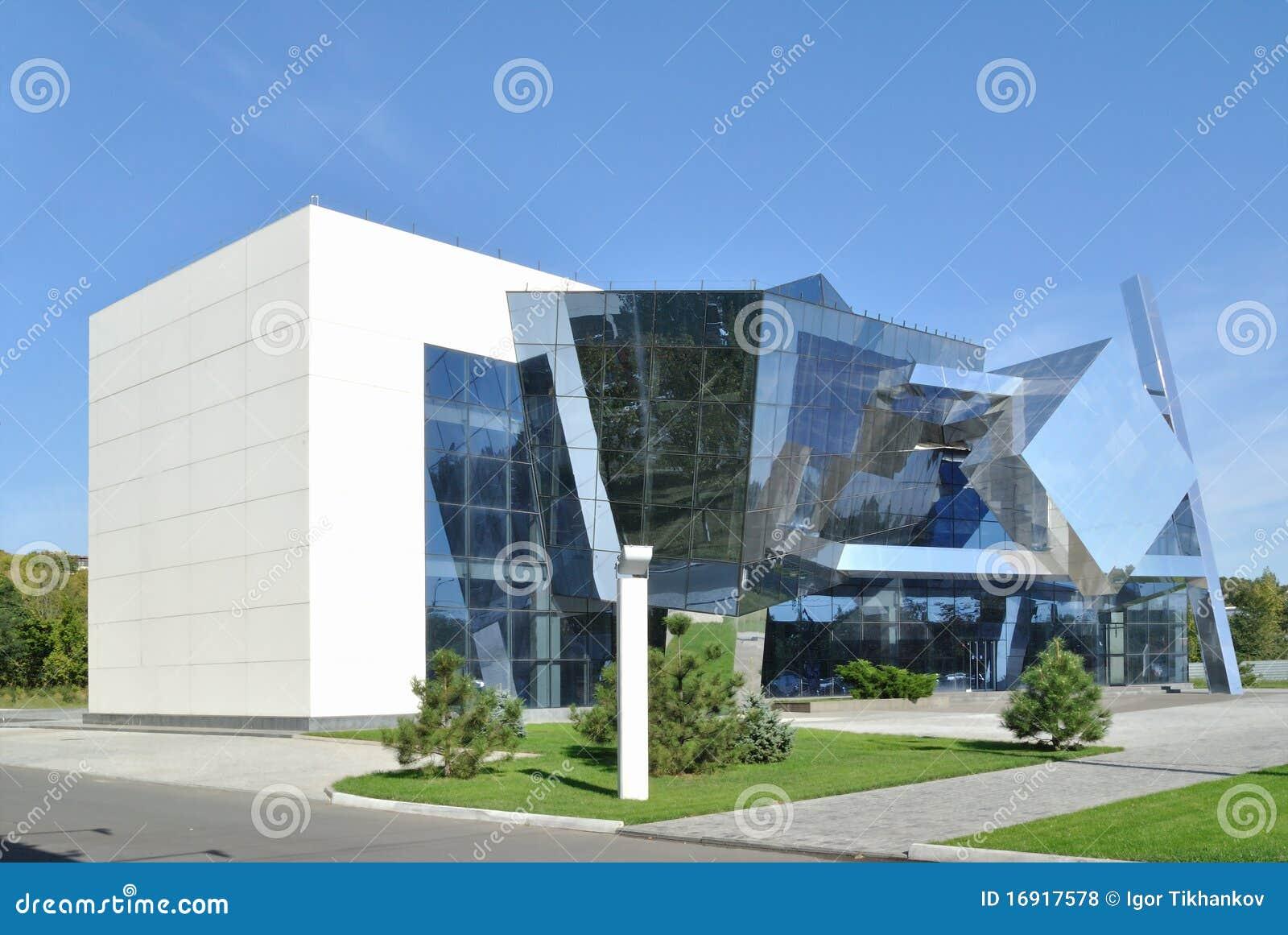 Das Beispiel Von Kubismus In Der Modernen Architektur