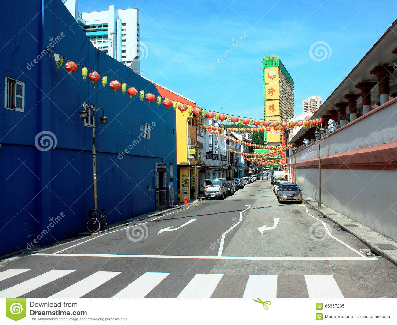 Das Chinatown in Singapur