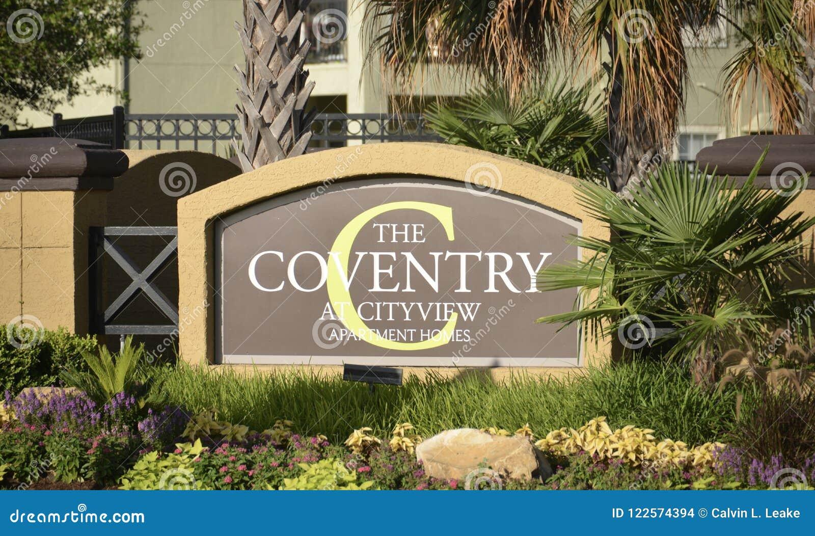 Das Coventry an der Stadt-Ansicht, Fort Worth, Texas