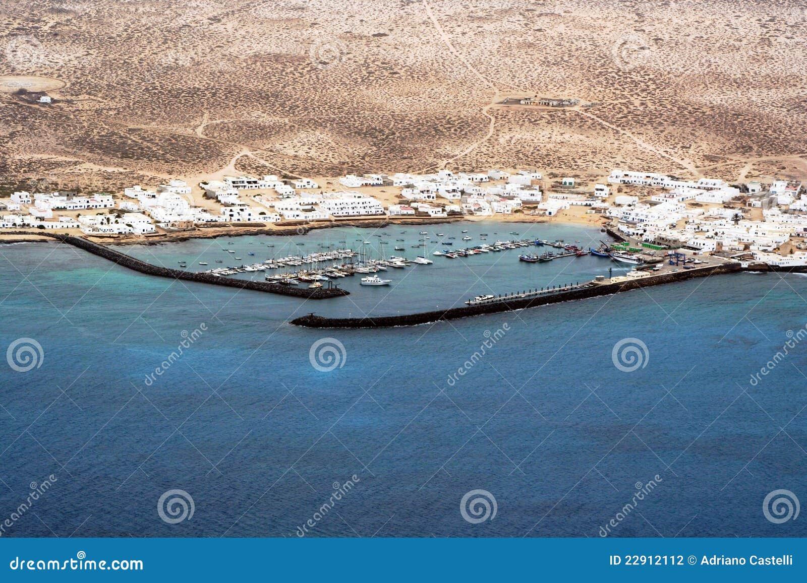 Das Dock, panoramische Ansicht