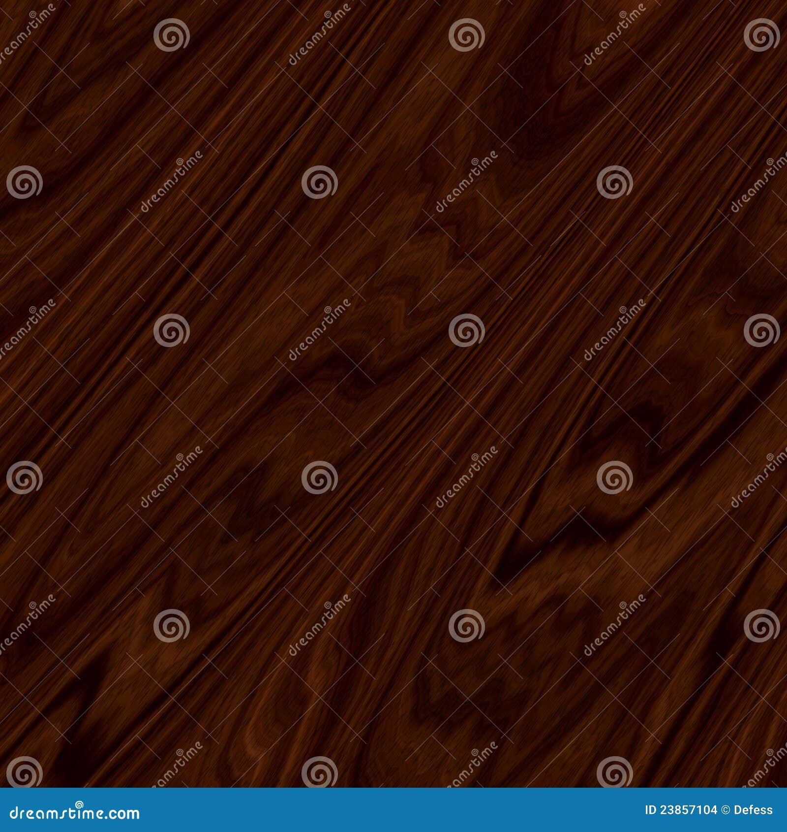Das dunkle Holz.