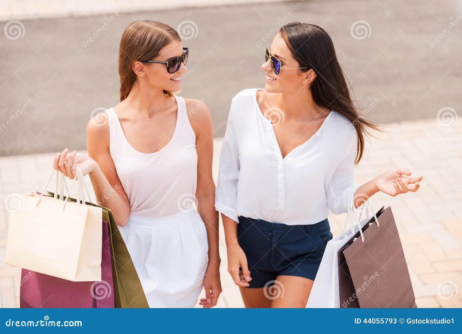 Das Einkaufen ist die beste Therapie