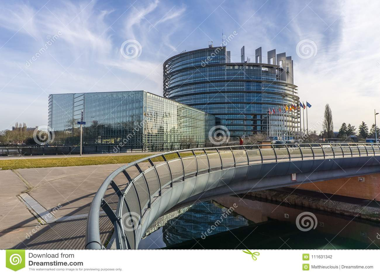 Das Europäische Parlament, Straßburg