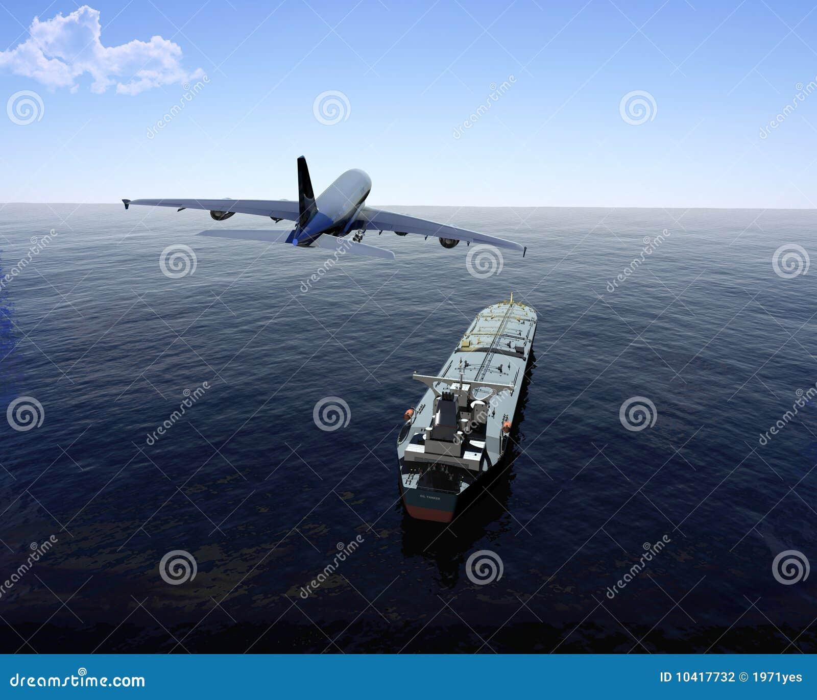 Das Frachtschiff