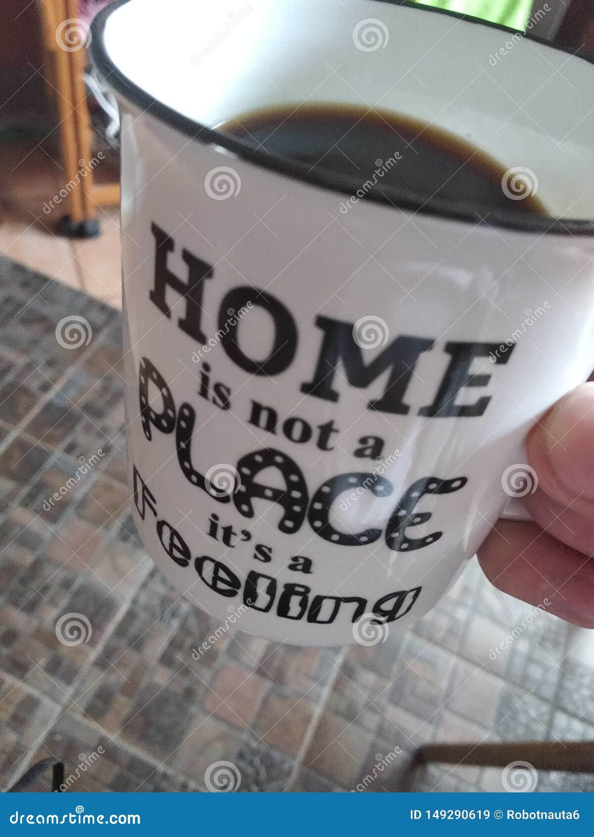 Das Haus ist kein sein Platz ein Gef?hl