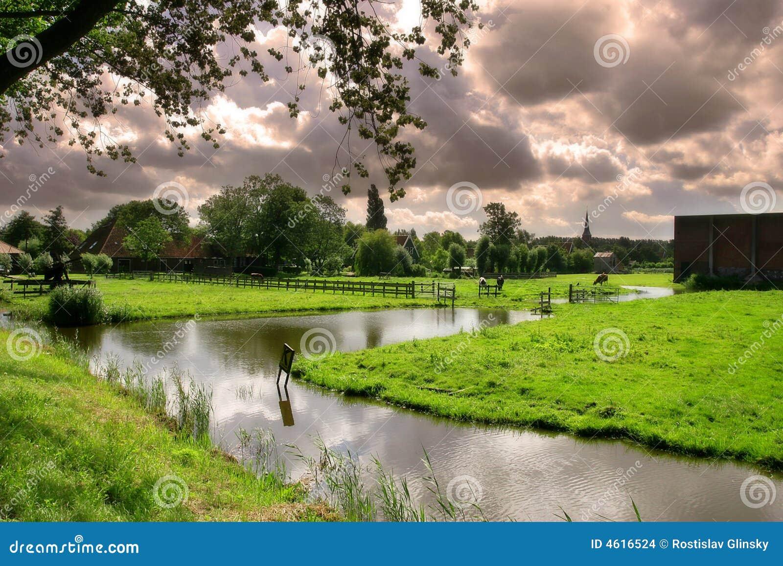 Das holländische Dorf.