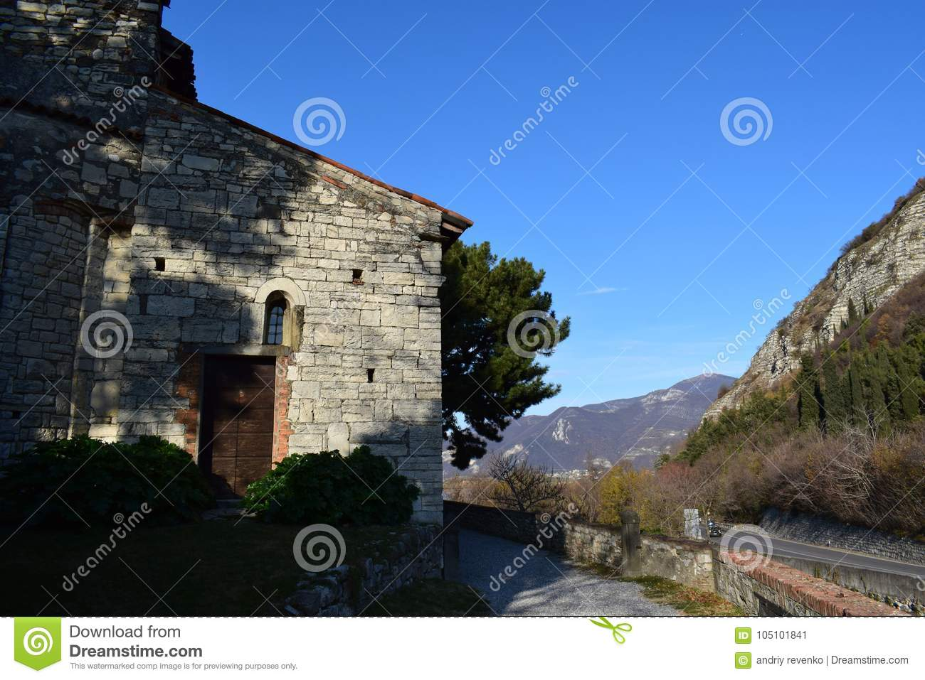 Das Kloster nahe iseo See