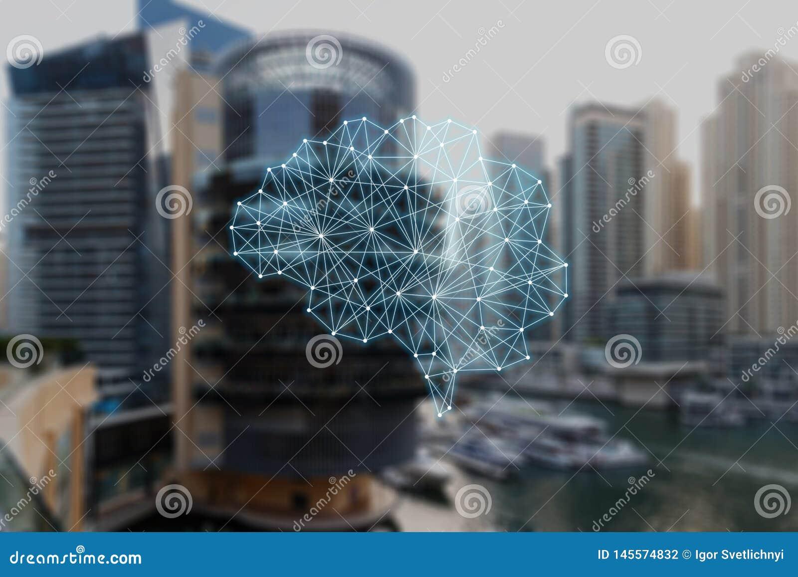 Das Konzept von autonomen Sachen
