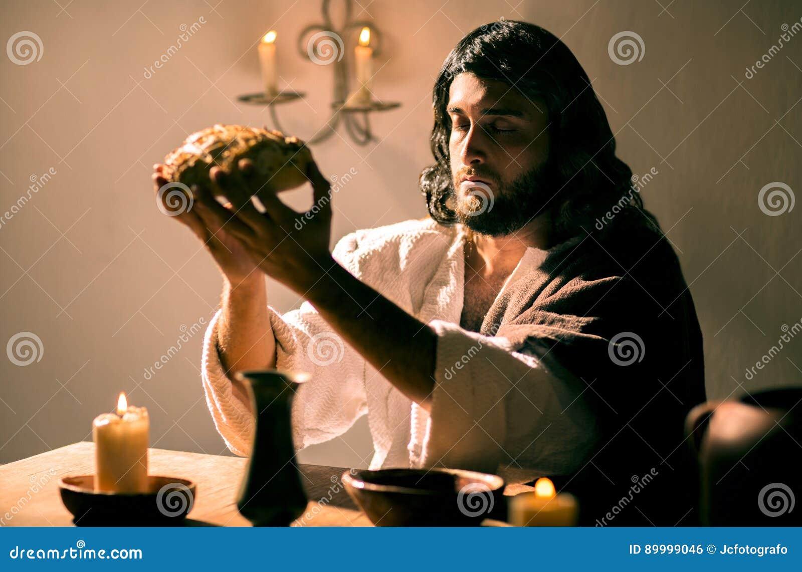 Das Letzte Abendessen Von Jesus Christ Stockfoto - Bild von ...