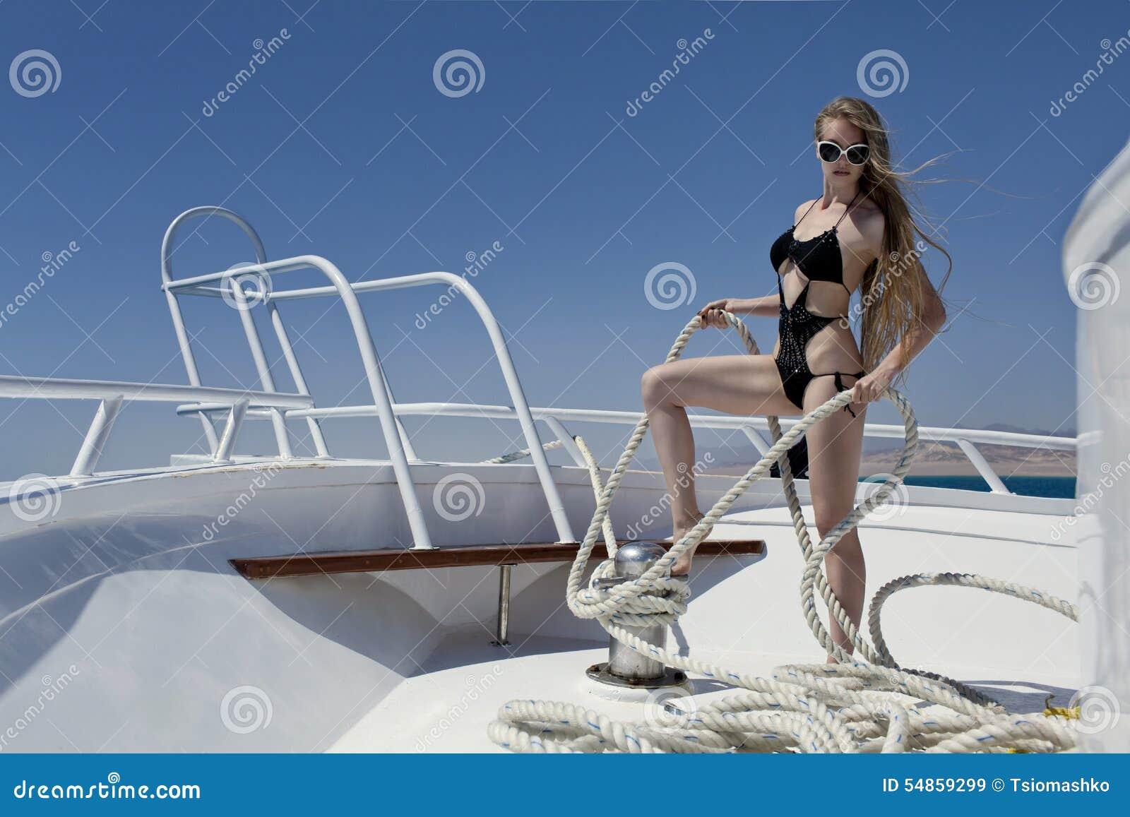Auf Dem Boot Wichsen
