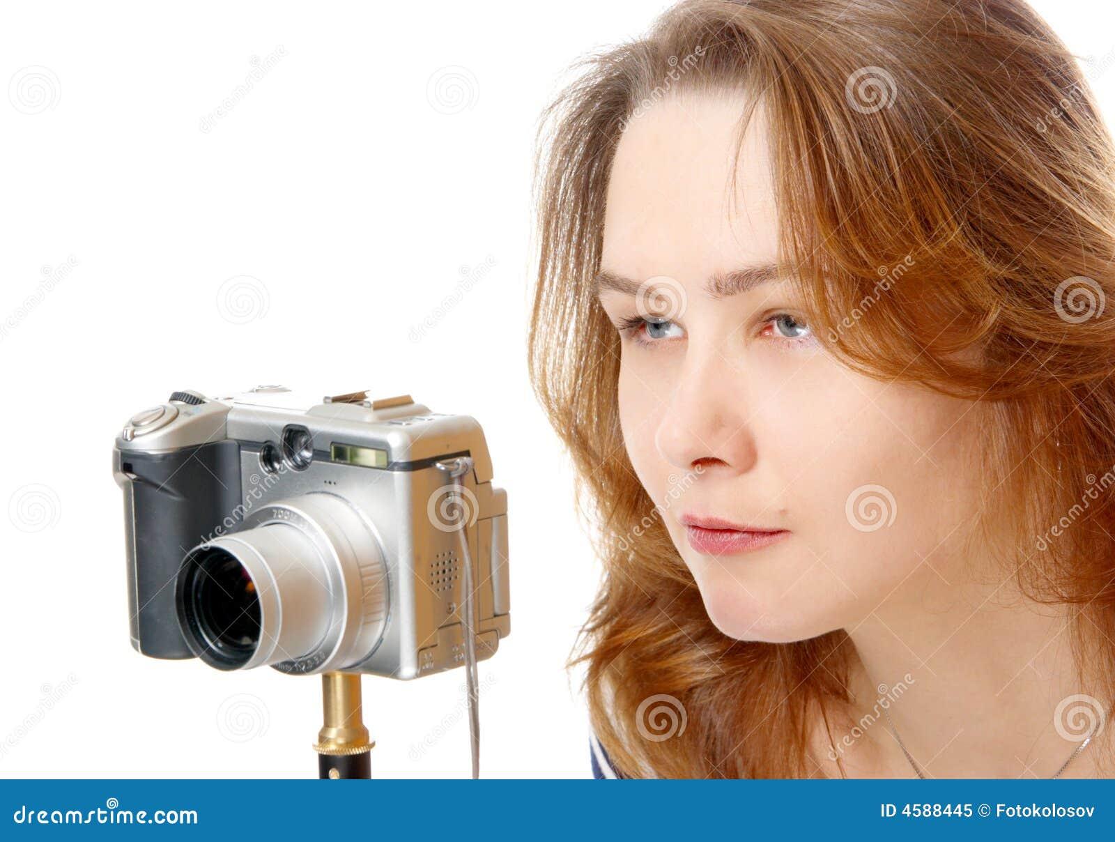 Das Mädchen in der Kamera