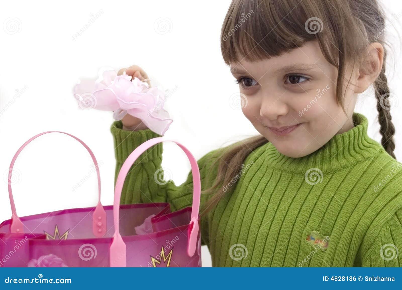 Das Mädchen und die Käufe