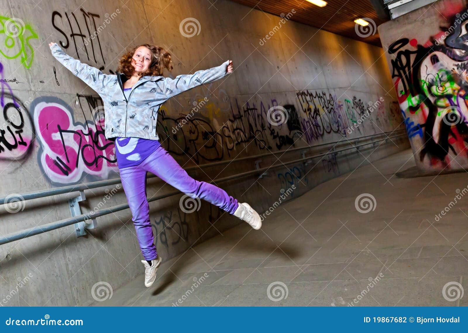 Das Mädchenspringen