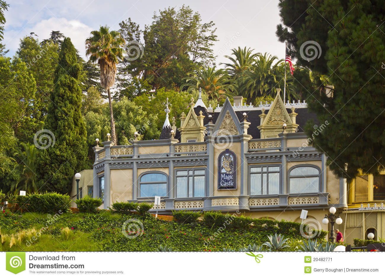 Das magische Schloss in Hollywood, Kalifornien