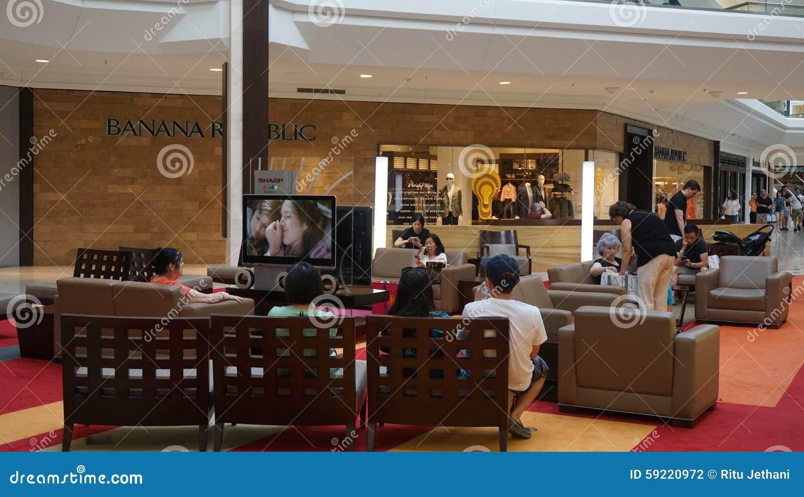 Das Mall an den kurzen Hügeln in New-Jersey