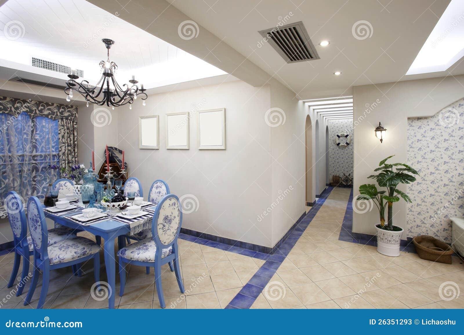 Das Mittelmeer-art Esszimmer
