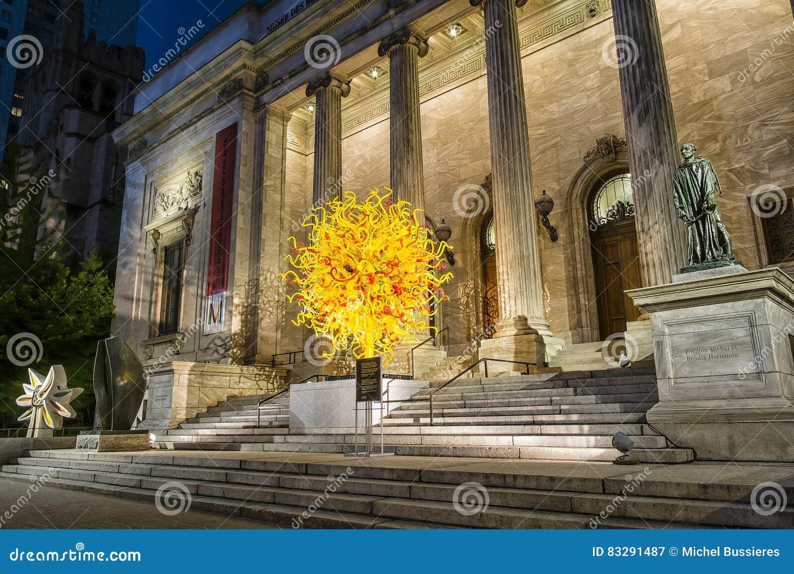 Das Montreal-Museum von schönen Künsten MMFA