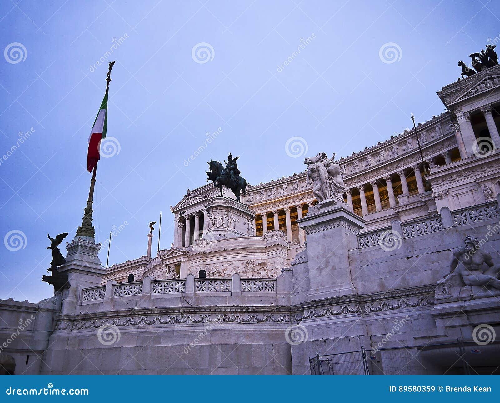 Das Monument Zu Konig Vittorio Emanuel Bekannt Als Die