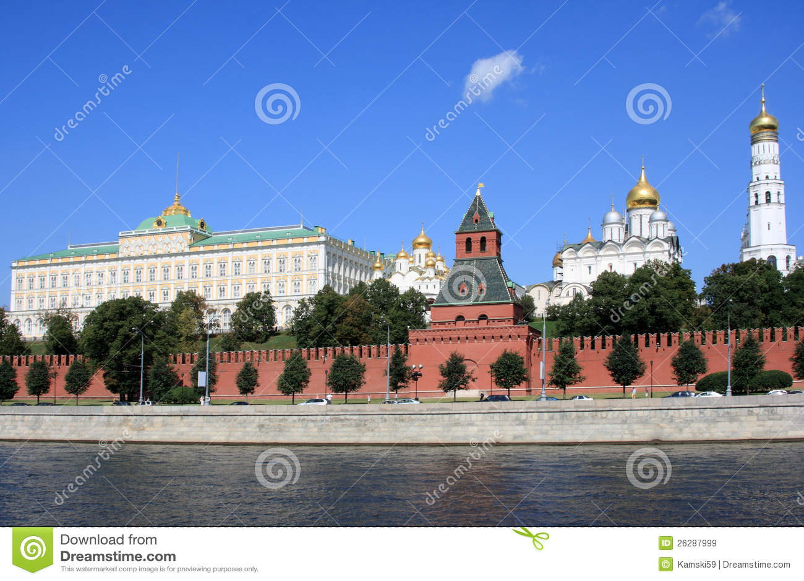 Das Moskau Kremlin