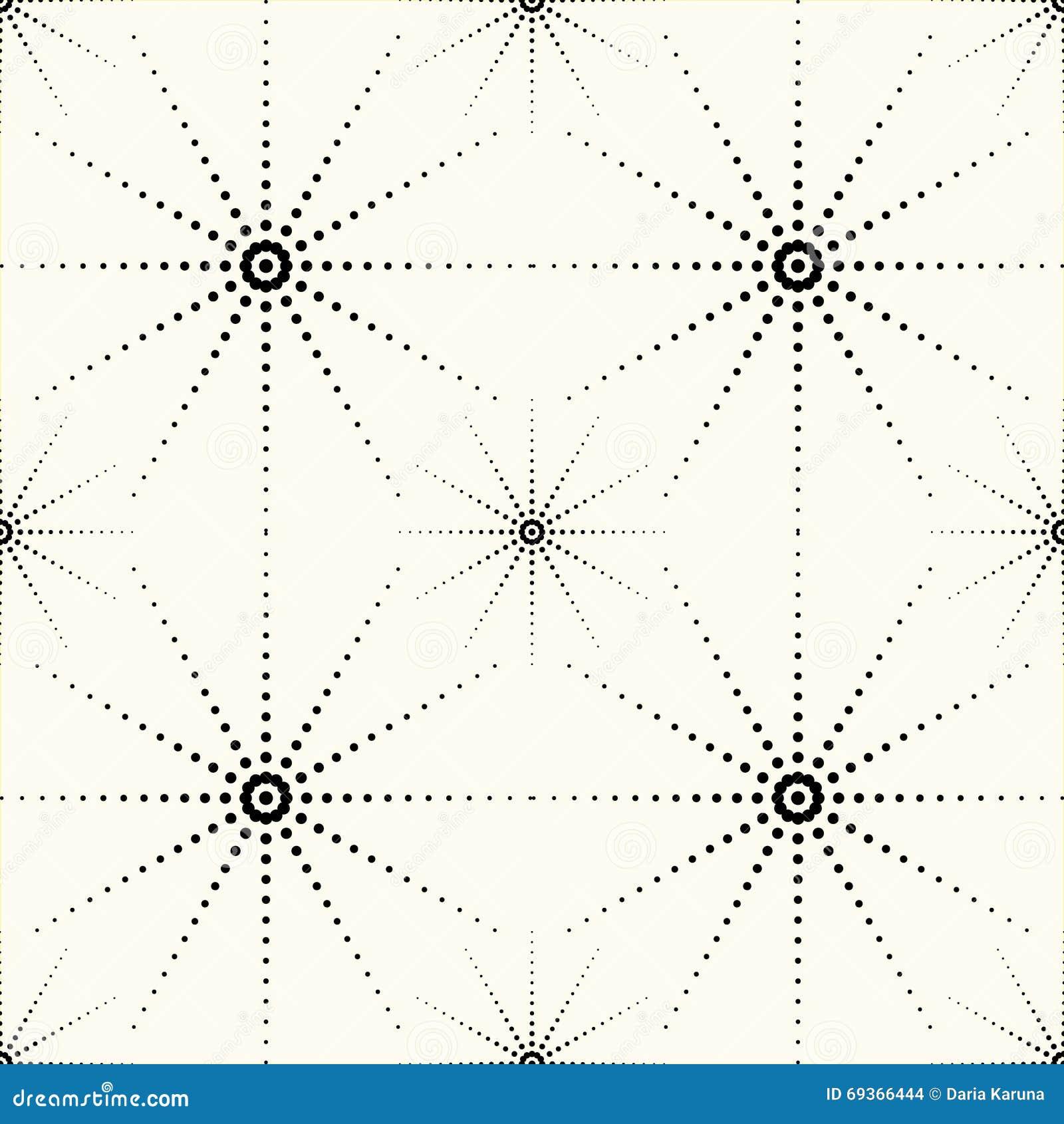 Das Muster von Punkten vektor abbildung. Illustration von