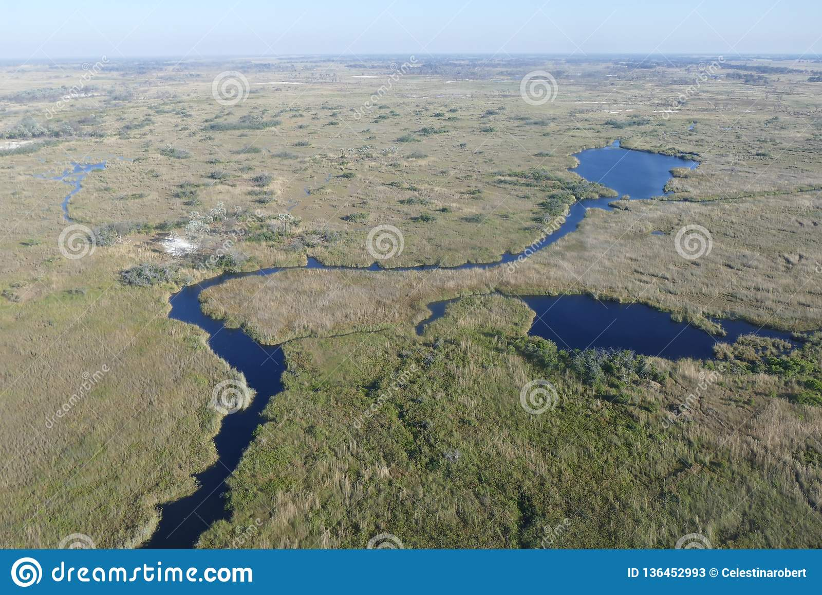 Das Okavango-Delta