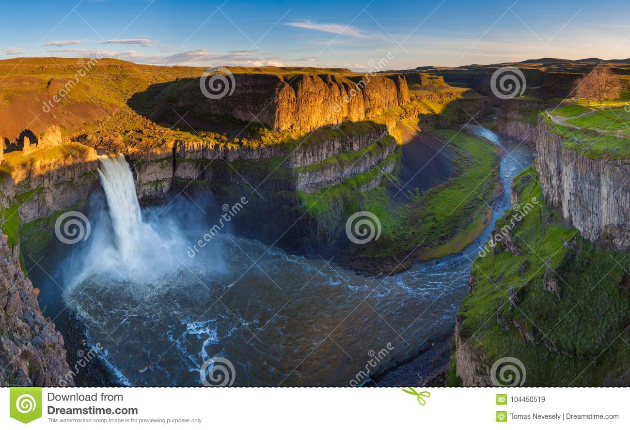 Das Palouse fällt in Washington, USA