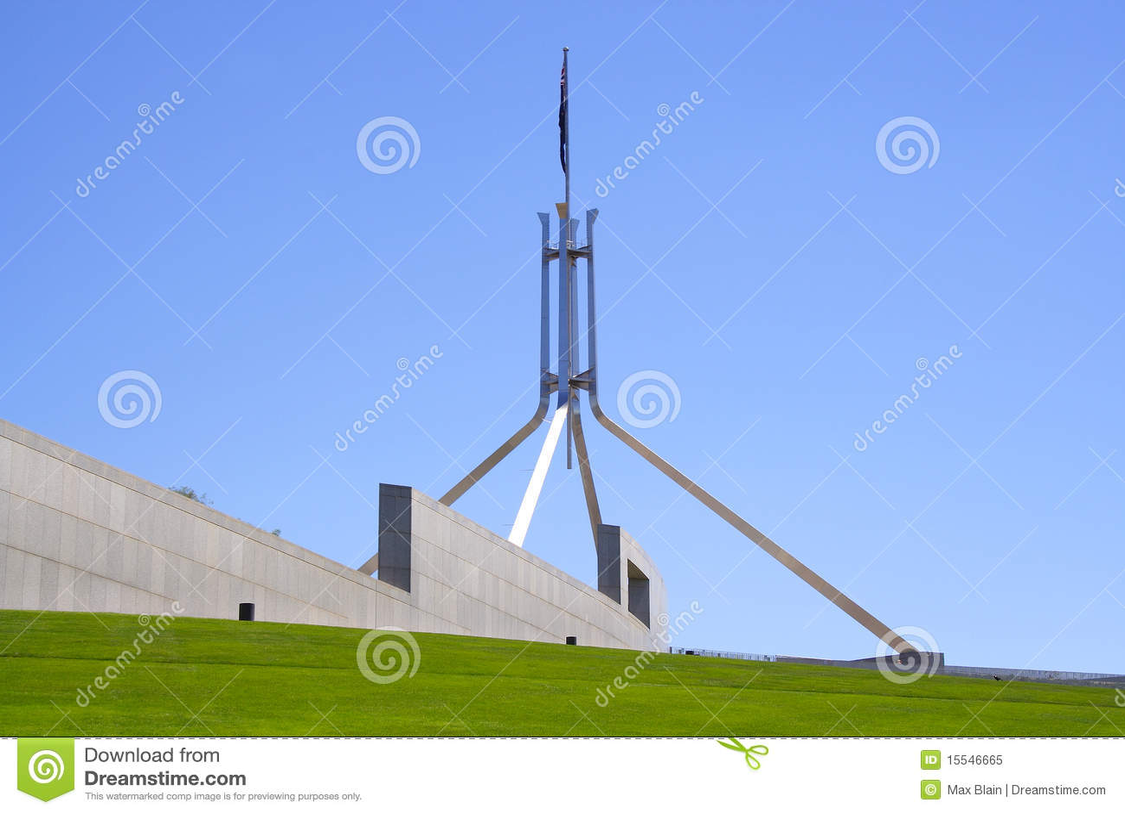 Das Parlament bringen unter