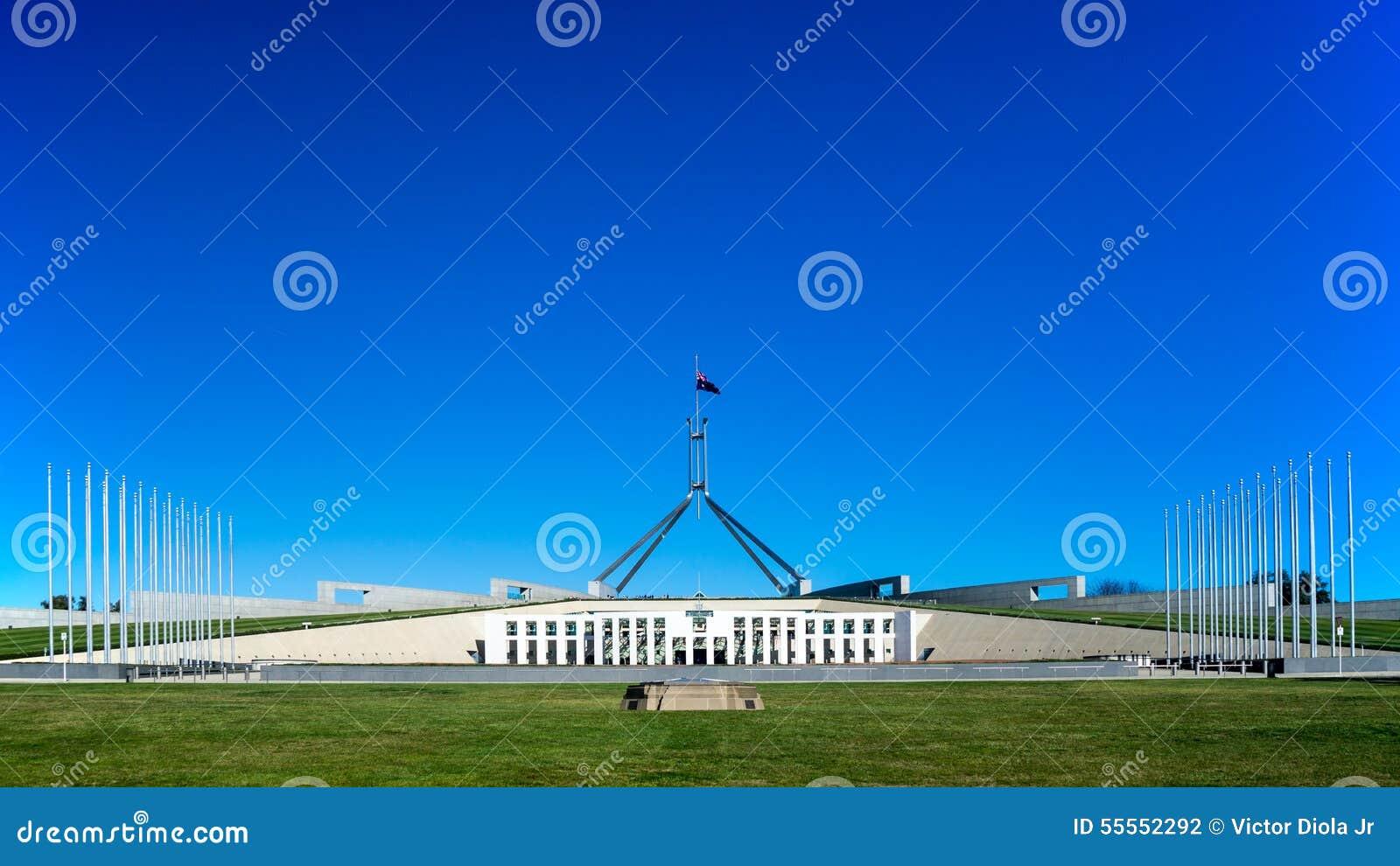 Das Parlamentsgebäude von Australien
