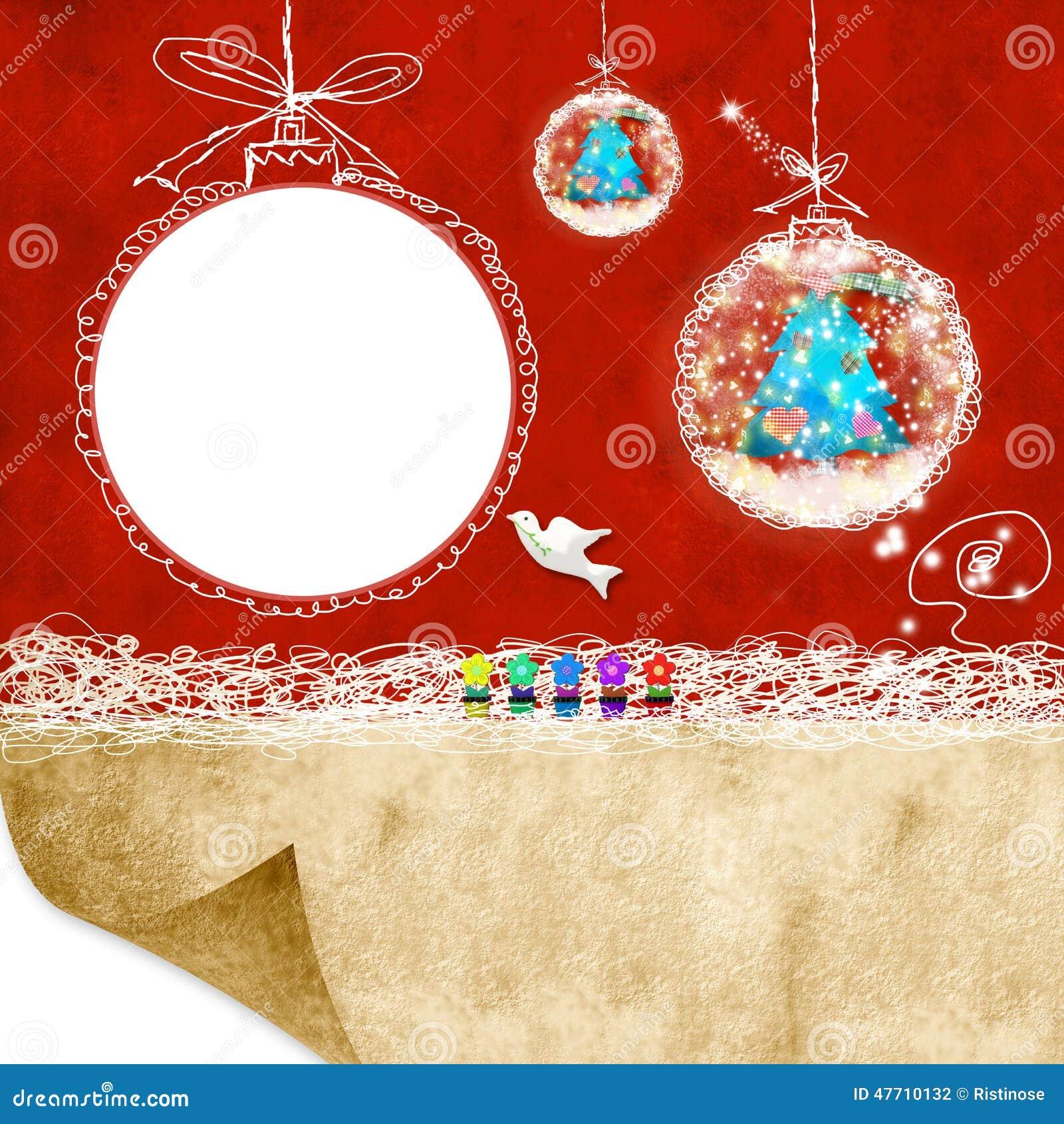 Das photoframe der weihnachtskarten kinder stockfoto bild von geschenk speicher 47710132 - Weihnachtskarten download ...