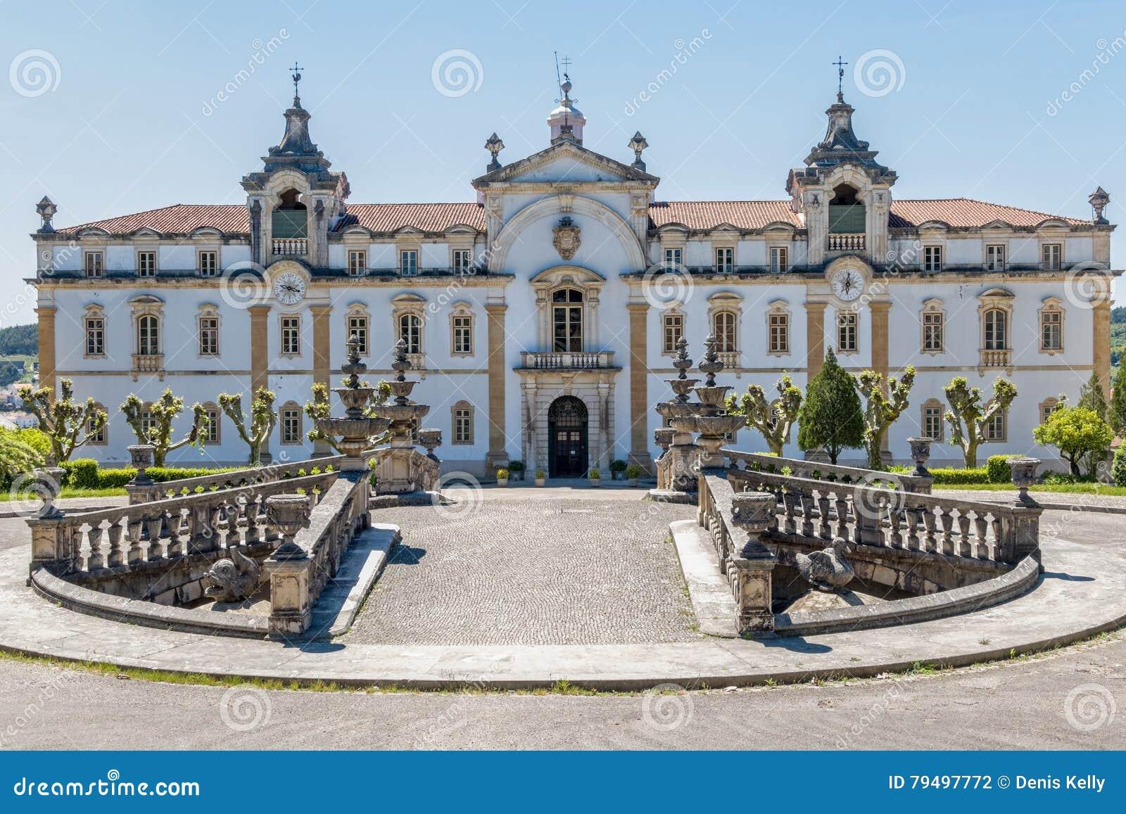 Das Priesterseminar von Sagrada Familia in Coimbra, Portugal