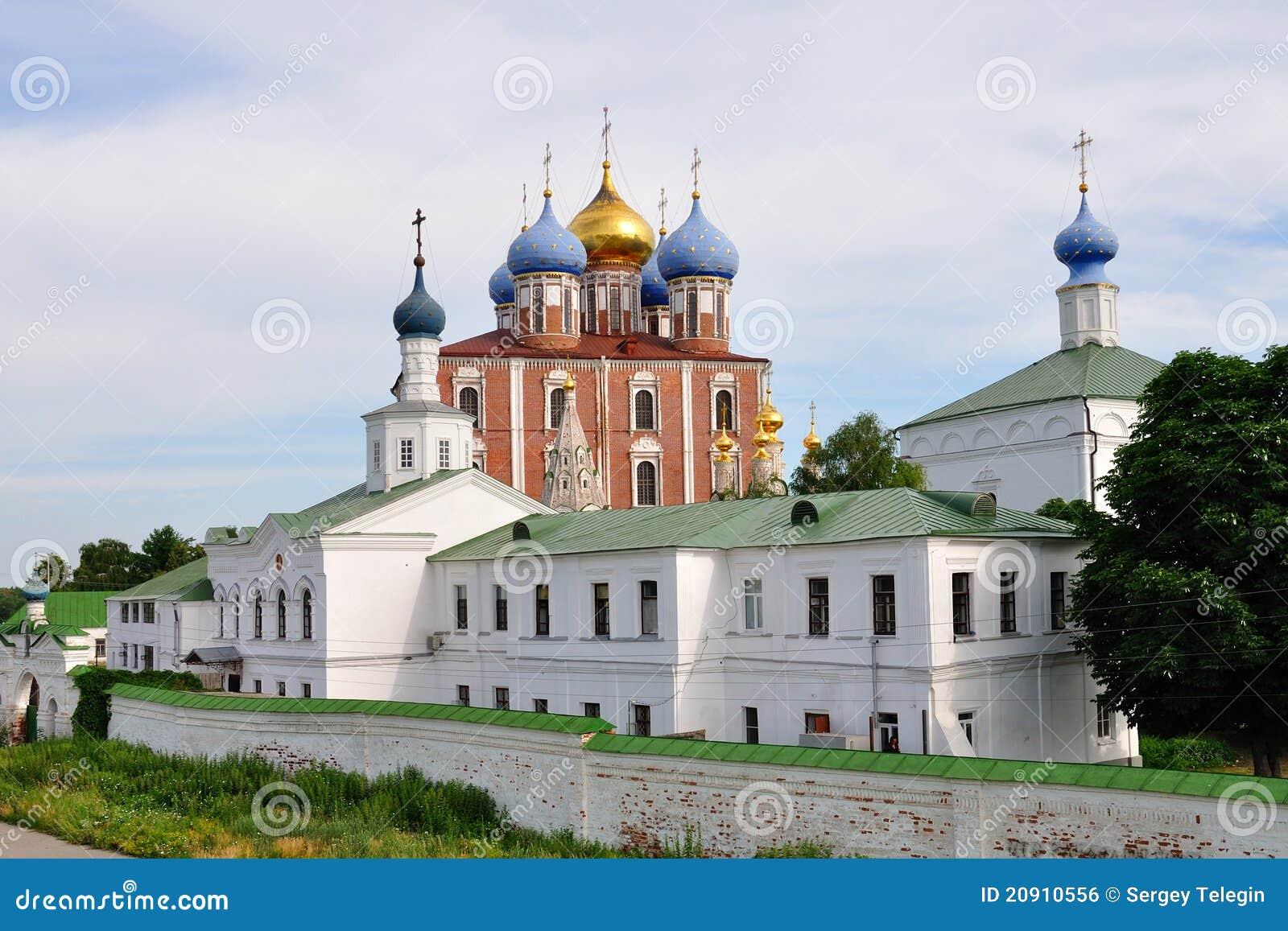 Das Ryazan Kremlin, Russland