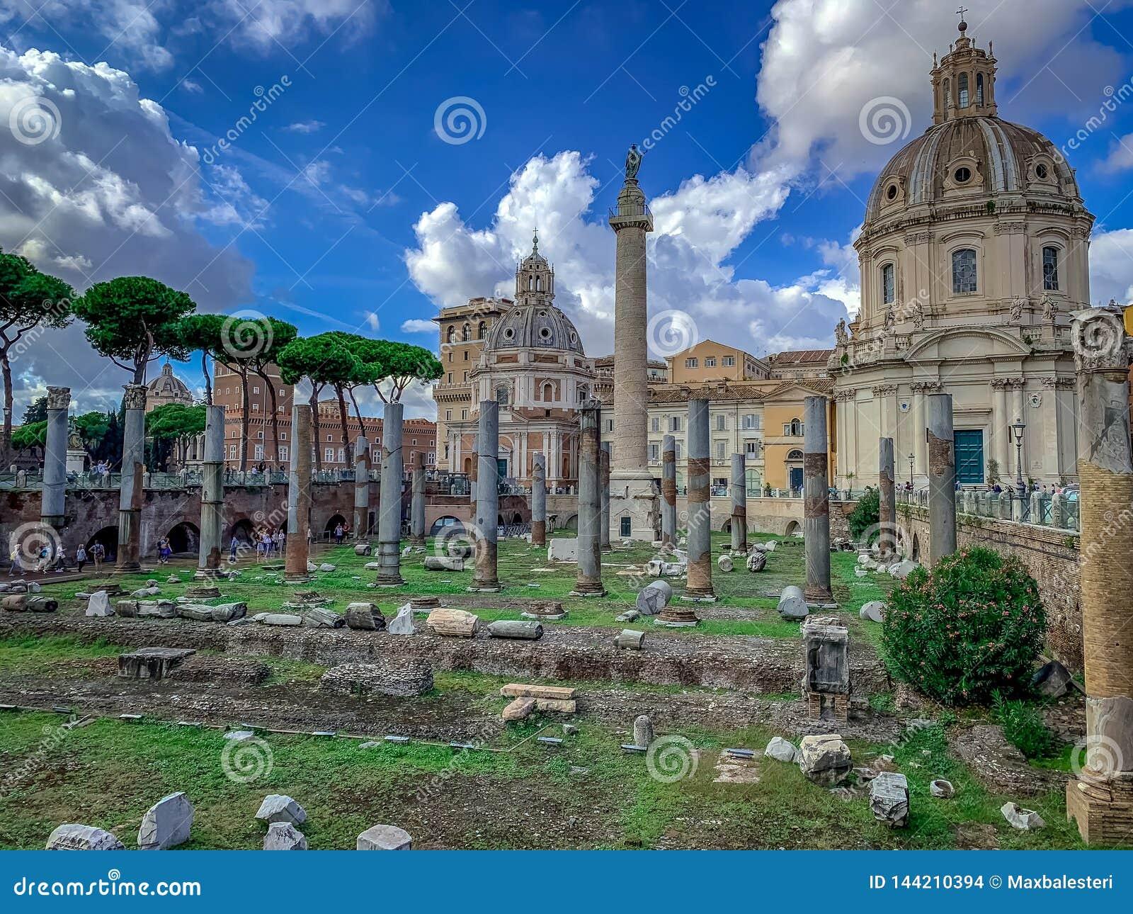 Das schön bezaubernde Rom Italien