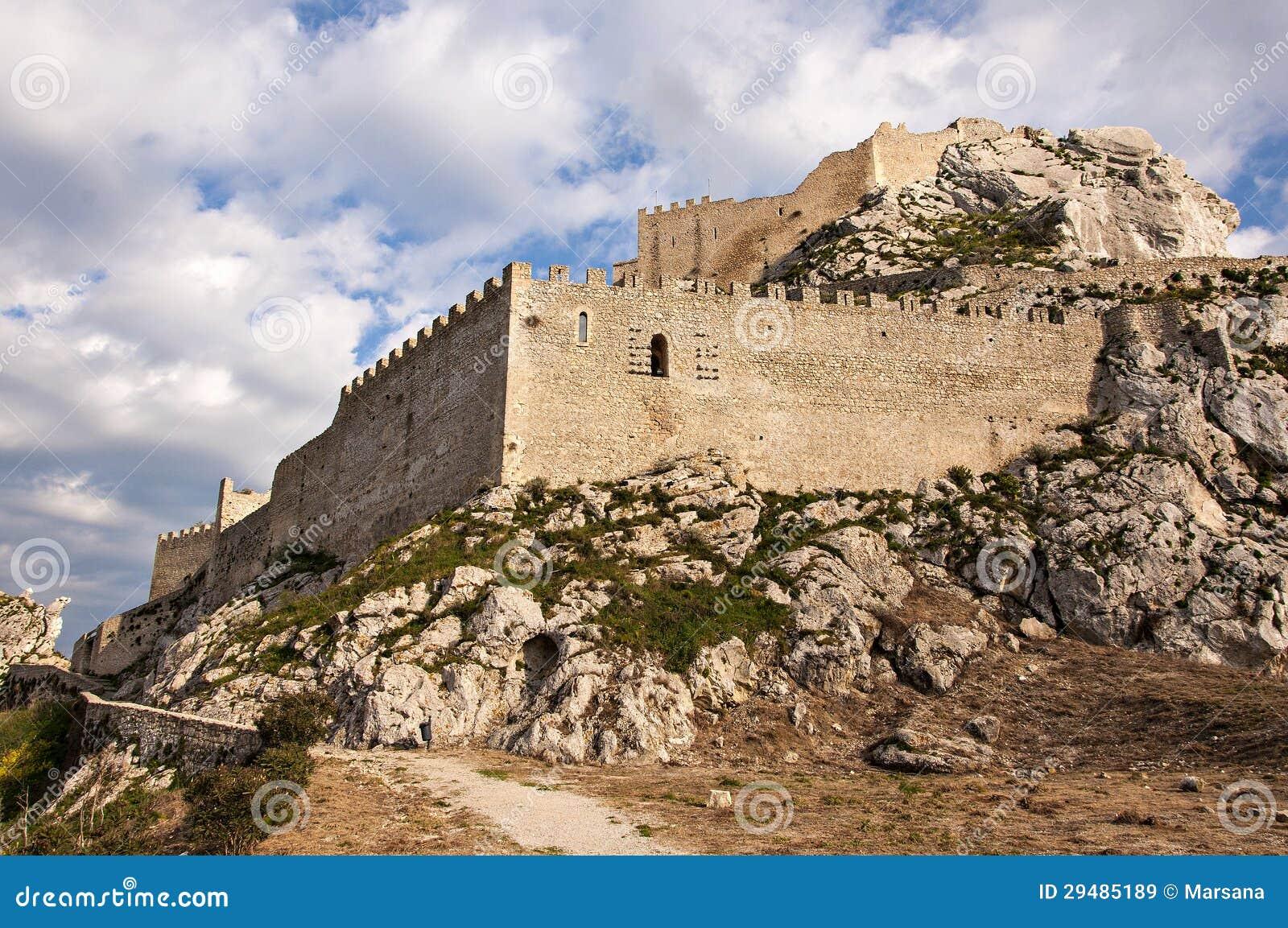 Das Schloss von Mussomeli