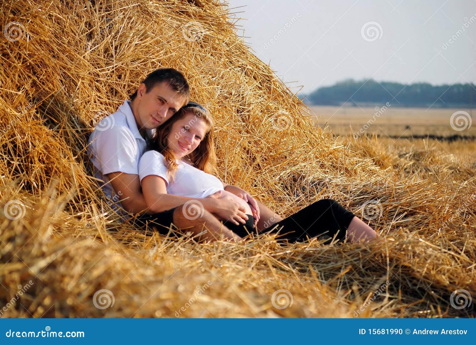 Schwangere Melken