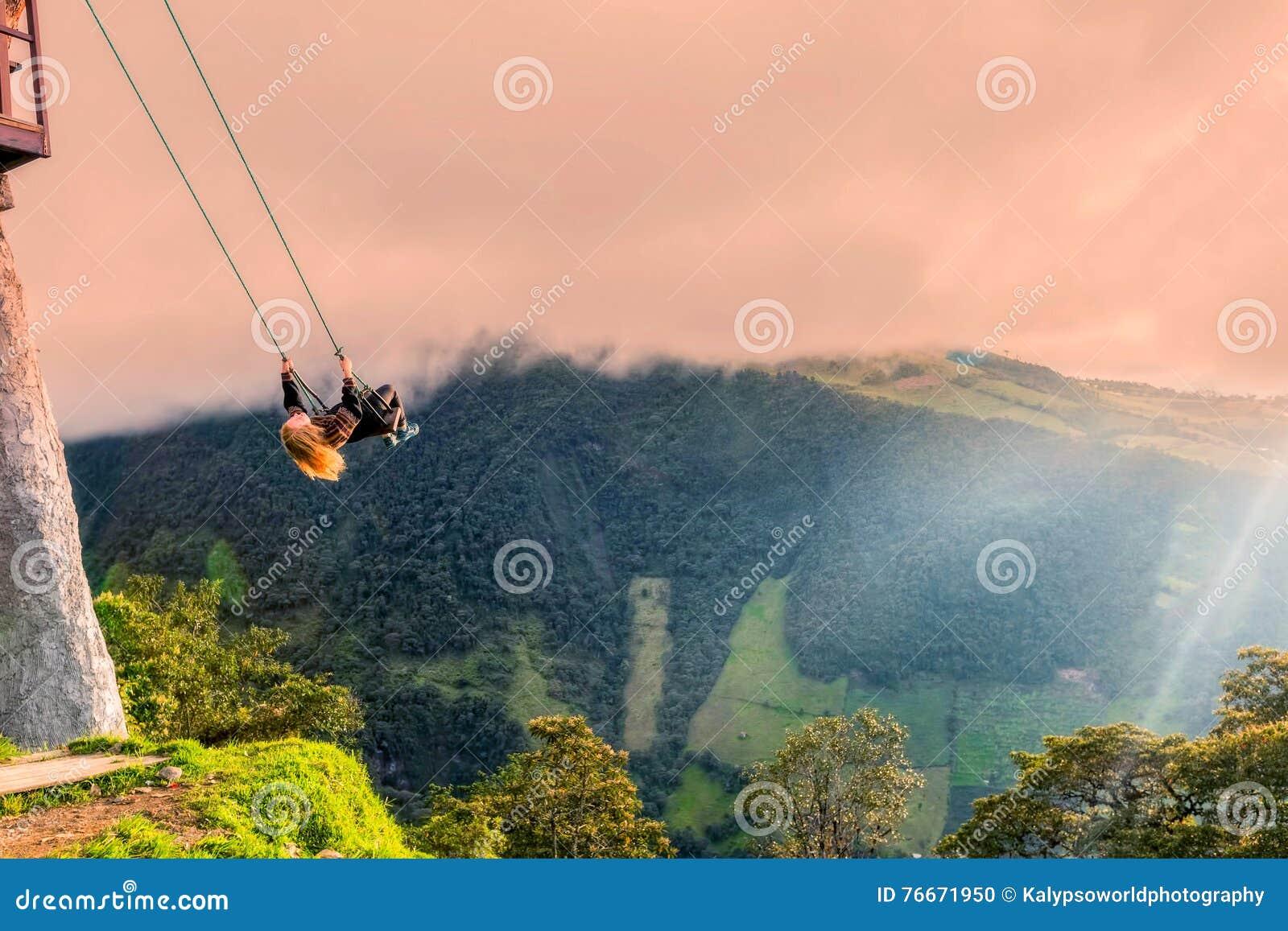 Das Schwingen am Ende der Welt, Ecuador