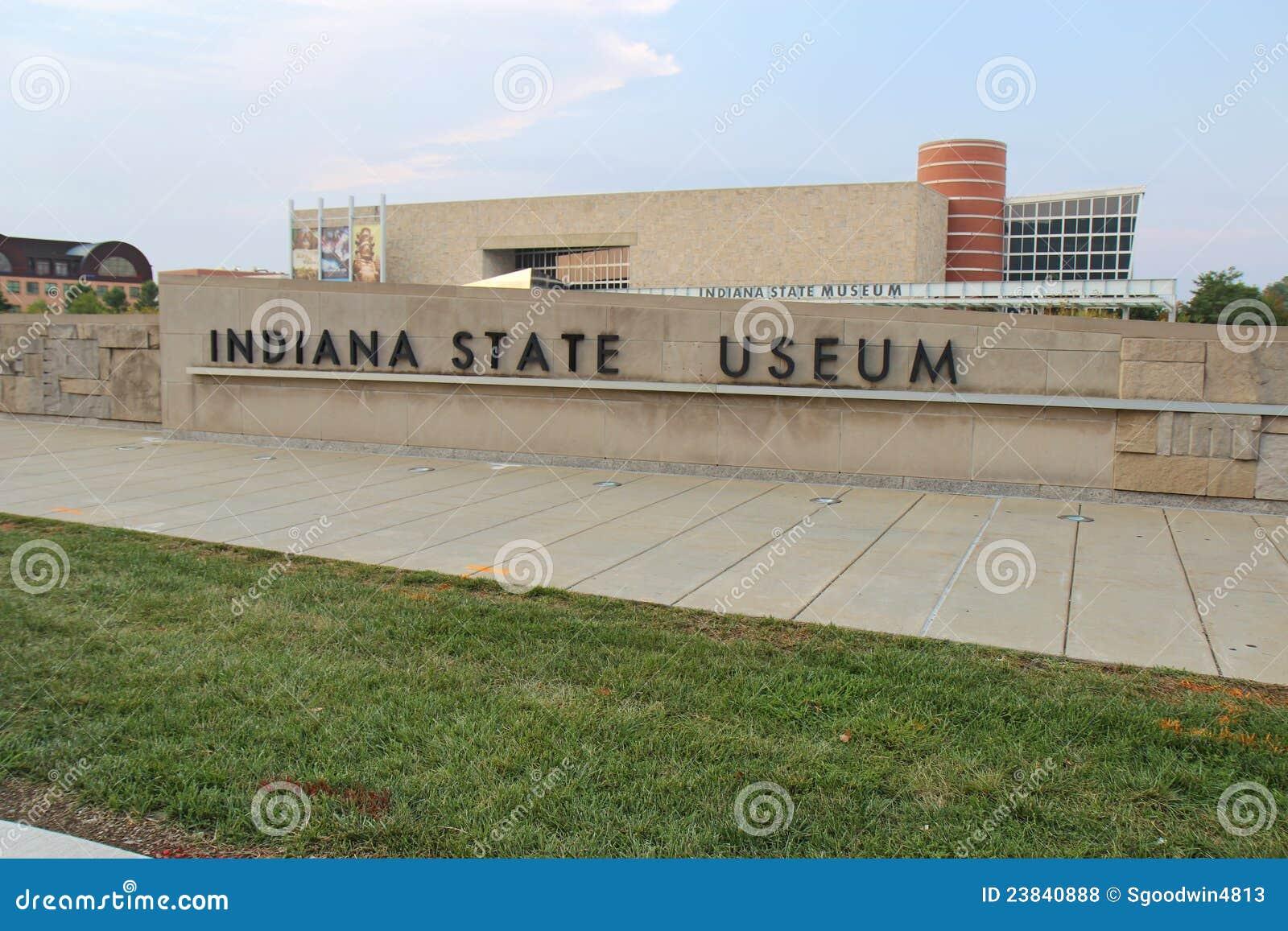 Das Staat Indiana-Museum in Indianapolis